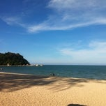 Photo taken at Pantai Teluk Cempedak (Beach) by Mohd A. on 9/2/2013