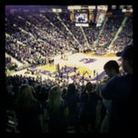 Photo taken at Bramlage Coliseum by Lauren P. on 2/17/2013