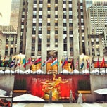 Photo taken at Rockefeller Center by Louie C. on 7/25/2013