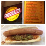 Photo taken at Rockets Sausages by Dino A. on 2/19/2013