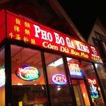 Photo taken at Pho Bo Ga King by Jon F. on 10/28/2012