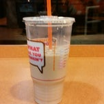 Photo taken at Dunkin Donuts by Russell B. on 1/2/2014