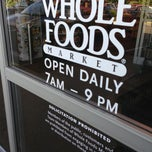Photo taken at Whole Foods by Chuck N. on 7/22/2013