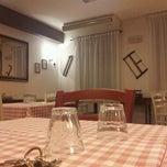 Photo taken at All'Antico Borgo by Marco B. on 5/23/2013