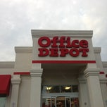 Photo taken at Office Depot by Scott B. on 12/18/2012