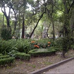 Photo taken at Jardín del Arte by Vincent I. on 3/2/2014
