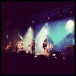 Photo taken at The DeltaPlex Arena by White W. on 2/11/2013