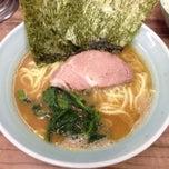 Photo taken at 武蔵家 中野本店 by t.yasuda on 4/1/2013