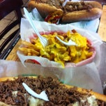 Photo taken at Pudge's Steaks and Hoagies by Adrian H. on 6/8/2013