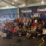 Photo taken at Reebok CrossFit One Gym by Eric A. on 2/17/2014