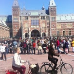 Photo taken at Rijksmuseum by Marlin B. on 5/1/2013