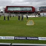 Photo taken at Old Trafford Cricket Ground by GAURAV K. on 8/5/2013