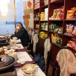 Photo taken at Huwon Restaurante Coreano by Roberto K. on 2/4/2013