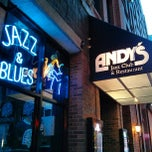 Photo taken at Andy's Jazz Club by Eradzh N. on 5/12/2013