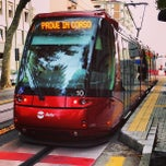 Photo taken at Capolinea Tram via Cappuccina by Ares A. on 9/18/2013