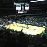 Photo taken at USF Sun Dome by Matt S. on 2/7/2013