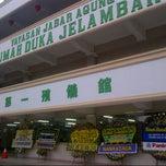 Photo taken at Rumah Duka Jelambar by silviana l. on 2/12/2013