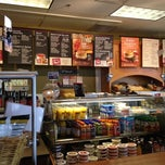 Photo taken at Bruegger's by Christine W. on 10/30/2012