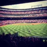 Photo taken at Rangers Ballpark in Arlington by Ryan C. on 6/16/2013