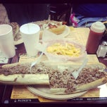 Photo taken at Pudge's Steaks and Hoagies by Mike H. on 11/17/2012