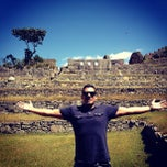 Photo taken at Templo de las Tres Ventanas by Daniel L. on 8/13/2013