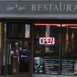 Photo taken at Gino & Joe's Famous NY Pizza by Gregg P. on 12/8/2012