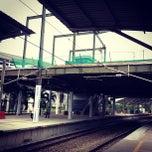 Photo taken at KTM Komuter Bandar Tasik Selatan (KB04) Station by Erwin T. on 9/29/2012