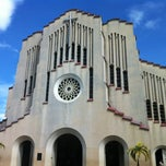 Photo taken at National Shrine of Our Mother of Perpetual Help by Rachel T. on 3/10/2013