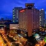 Photo taken at Sheraton São Paulo WTC Hotel by Camargo R. on 4/1/2013