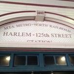 Photo taken at Metro North - Harlem 125th Station by Cari on 6/22/2013