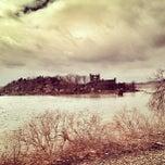 Photo taken at Bannerman Island by Cari on 3/22/2013