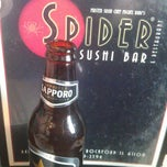 Photo taken at Spider Sushi by Michael on 1/20/2013