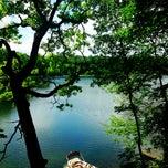 Photo taken at Huzzy Lake by Kaelen A. on 7/27/2013