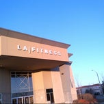 Photo taken at LA Fitness by Kemar W. on 3/30/2013