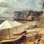 Photo taken at Balangan Beach by Belinda S. on 6/24/2013