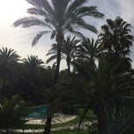 Photo taken at Meliá Marbella Banús by Anna O. on 11/28/2014