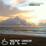 Photo taken at Praia do Pirui by Roberta S. on 1/1/2013