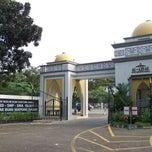 Photo taken at SMA Islam Al-Azhar by Ryan i. on 2/24/2013