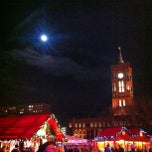 Photo taken at Weihnachtsmarkt am Roten Rathaus by Daiane D. on 12/29/2012