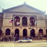 Photo taken at The Art Institute of Chicago by val m. on 4/6/2013