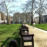 Photo taken at Berkeley Square by Emmanuel A. on 4/14/2013