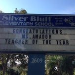 Photo taken at Silver Bluff Elementary School by Juan C. on 11/21/2013