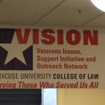 Photo taken at Syracuse University College Of Law by Sarah B. on 4/5/2014