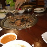 Photo taken at Korean Restaurant by thaope a. on 4/16/2014