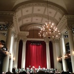 Photo taken at St. John's, Smith Square by Ben F. on 2/19/2013