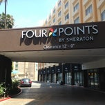Photo taken at Four Points by Sheraton Los Angeles International Airport by Jessica C. on 5/1/2013