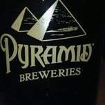 Photo taken at Pyramid Brewery & Alehouse by Bill G. on 12/14/2012