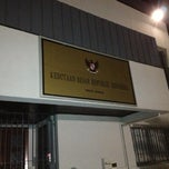 Photo taken at Indonesian Embassy in Dakar by Rizal M. on 2/16/2013