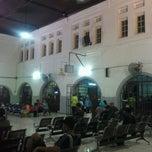 Photo taken at Stasiun Pasar Senen by Oktavia R. on 3/27/2013