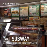 Photo taken at Subway by Michael C. on 5/15/2013
